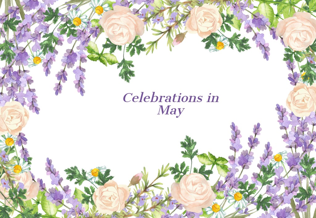 celebrations in May