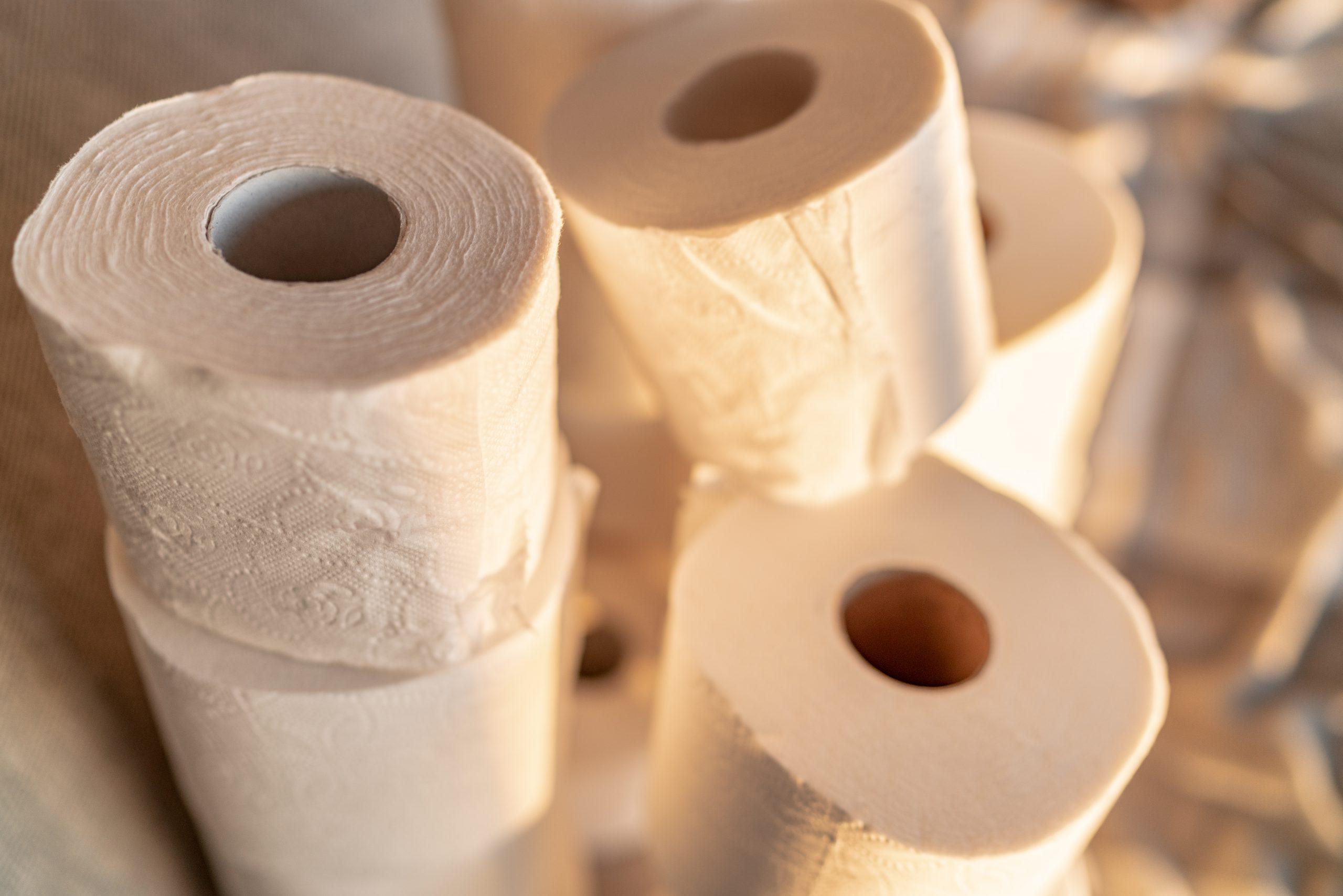 hoarding toilet paper
