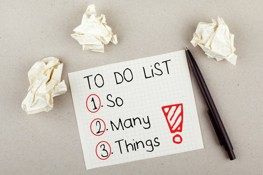 To Do List So Many Things